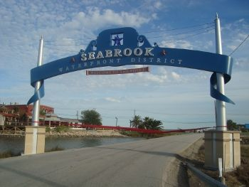Clear Lake Houston >> Seabrook, TX | Waterfront District gateway signage....I grew up here and went to Seabrook ...