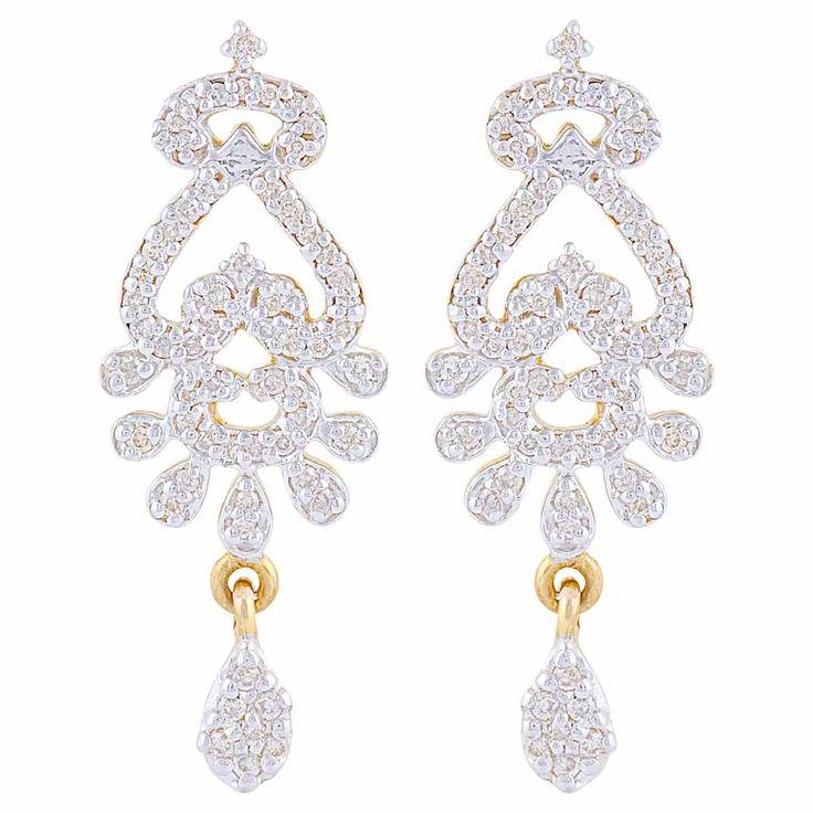 #earrings #diamonds #forever #gold #Mehrasons #Jewellers #bridal #trousseau