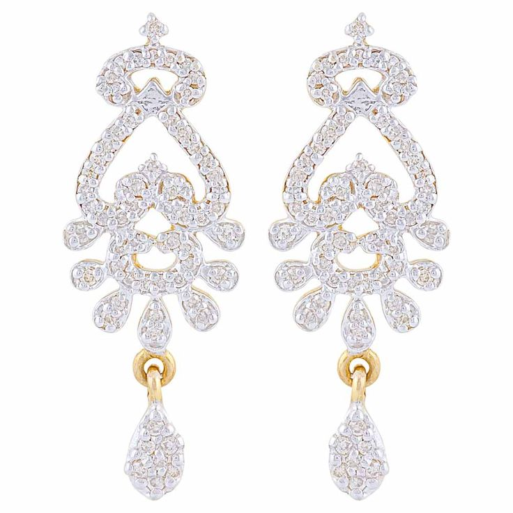 #earrings #diamonds #forever #gold #Mehrasons #Jewellers #bridal #trousseau