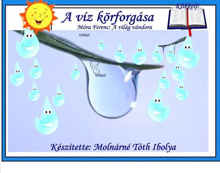 Fotó itt: A víz körforgása, Móra Ferenc: A világ vándora interaktív tananyag - Google Fotók