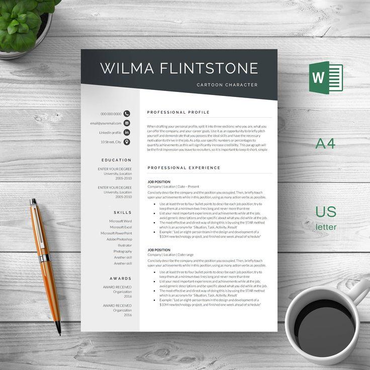 Resume Template Modern Resume Creative
