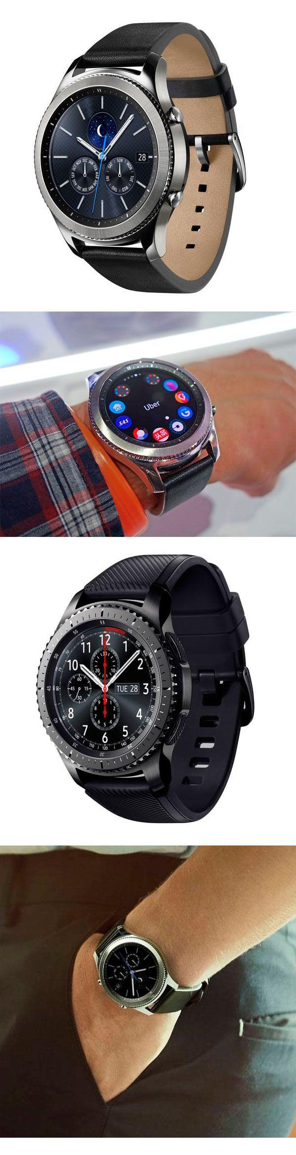 Умные часы #Samsung #GearS3 на конференции IFA 2016