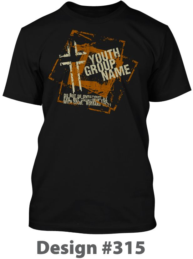 Christian T Shirts Design For Youth Groups