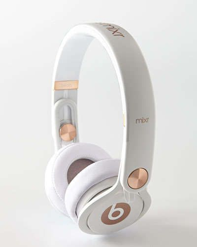 Beats x earphones gold - earphones rosegold
