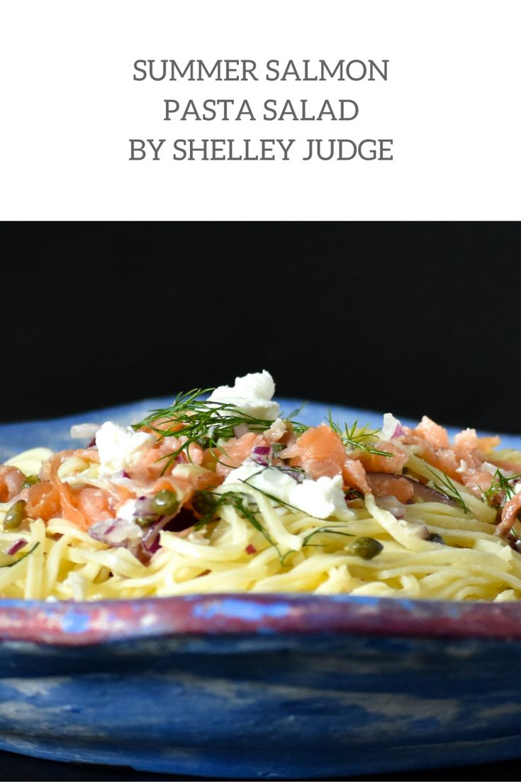 This Summer Salmon Pasta Salad is a quick and easy summer meal that will feed the whole family! Created by Angelo's Pasta Feature Foodie, Shelley Judge this is one recipe you should make over the summer months.
