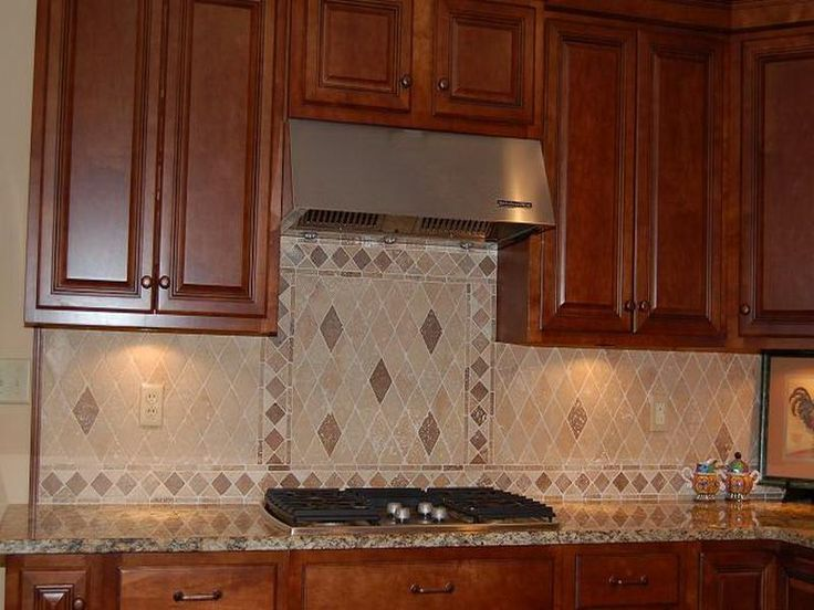 Kitchen cabinet granite backsplash ideas kitchens for Backsplash ideas for kitchen pinterest