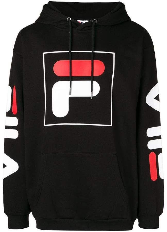 Fila logo hoodie | Sudaderas de moda, Marcas de ropa hombre ...