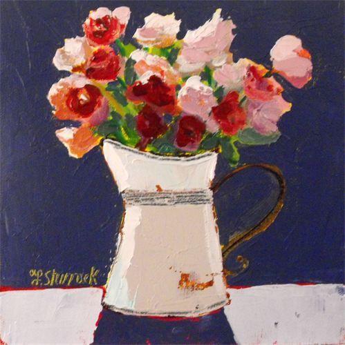 Ranunculus . Fiona Sturrock, Scottish Artist.