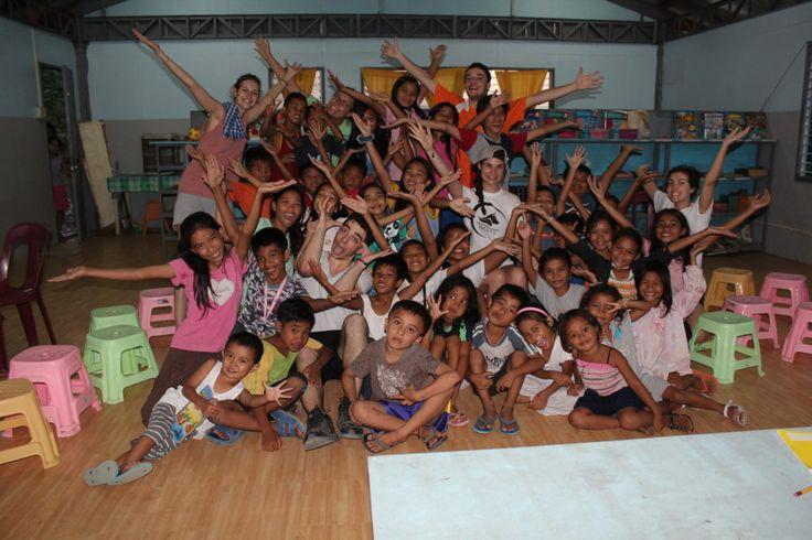 Philippines : mission humanitaire - classe de francais