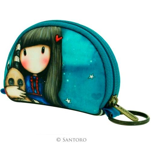 Monedero de Gorjuss Hush Little Bunny #gorjuss #santoro #santorolondon #conejo #bunny #gothic #purse #monedero #gotico