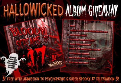 Hallowicked 2017 ALBUM Giveaway (9 tracks for FREE!)