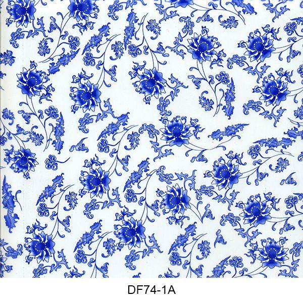 Hydro printing film flower pattern DF74-1A
