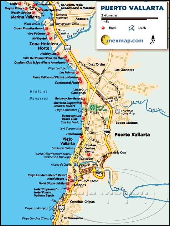 Puerto Vallarta maps.  I'll use these in October for sure!