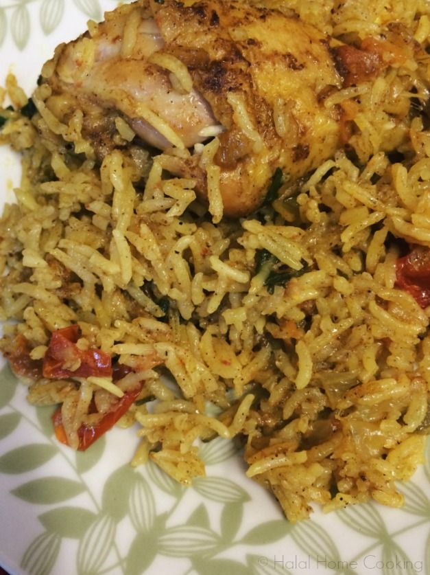 Bahraini Chicken Machbous was this month's savoury recipe for MENA Cooking Club