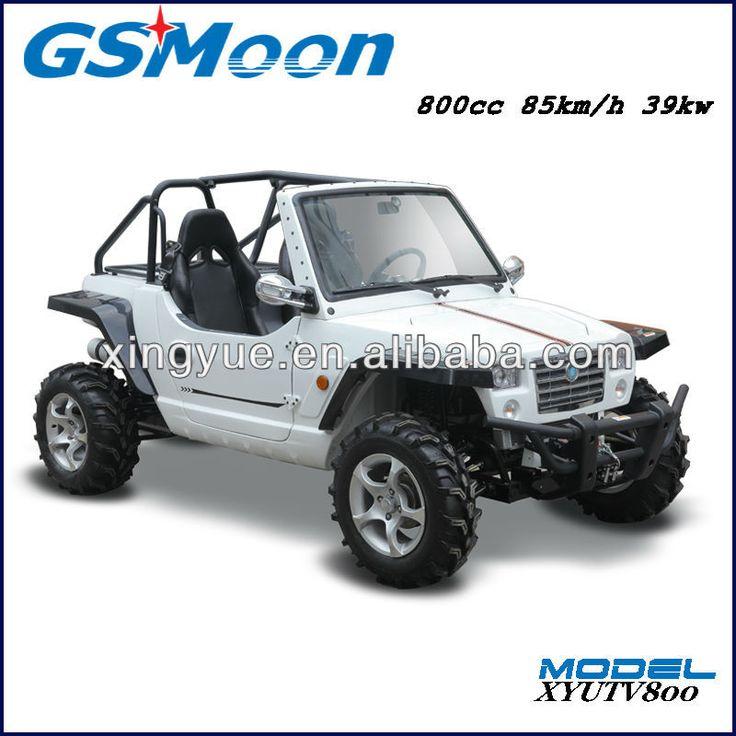 powerfull 800cc mini gas go kart with EFI engine