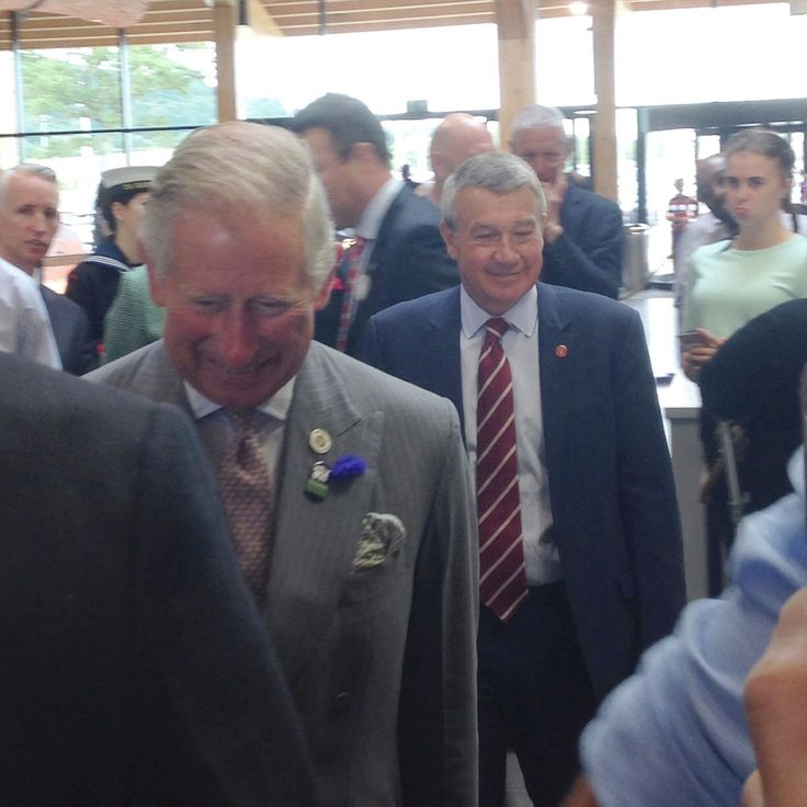 prince charles opens gloucester services