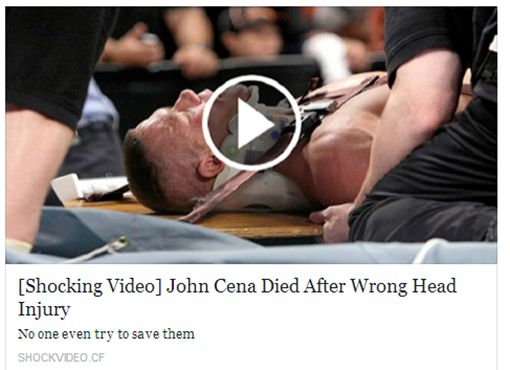[Shocking Video] John Cena Died After Wrong Head Injury is a Scam   Amfas Tech   Passion for Technology