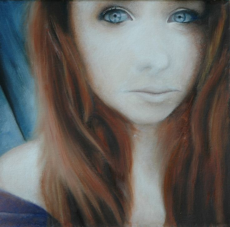 'The Selfette' Oil on Canvas. By Sarah McBride.