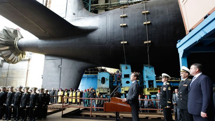 The launch marks an important milestone in a procurement program that began in the 1980s and Russia's efforts to rebuild its nuclear submarine fleet.