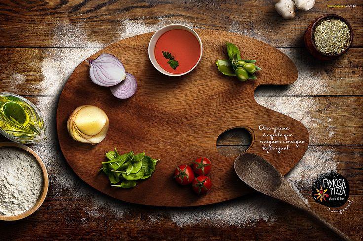 Famosa Pizza - Anúncio Paleta on Behance