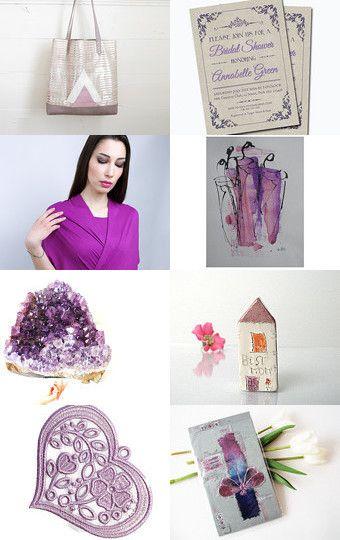 Purple rain! by Vicky on Etsy--Pinned with TreasuryPin.com