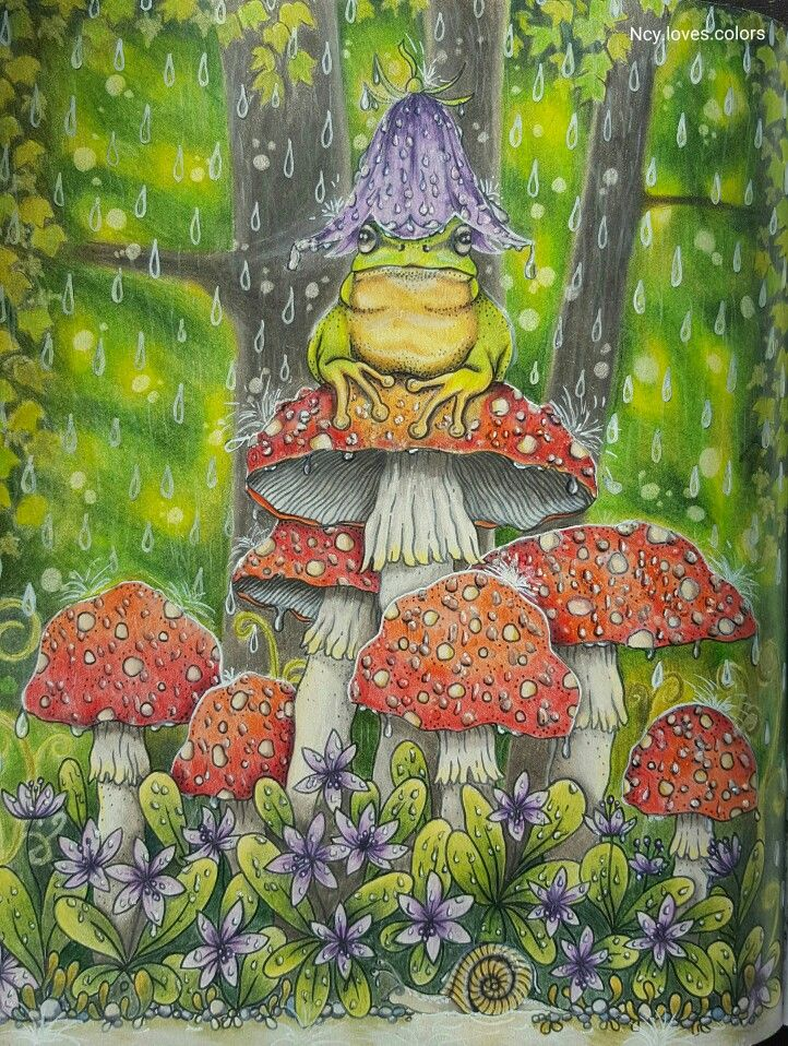 Farbe und Idee von mir. ☺  Buch: Daydreams  Illustratorin: Hanna Karlzon  Stifte: Prismacolor, Polychromos, weißer Gelstift und Glossy accents.