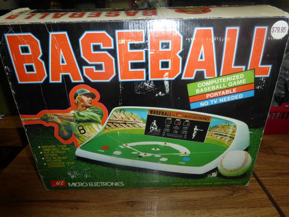 Check out this item in my Etsy shop https://www.etsy.com/listing/250471617/vintage-baseball-video-game-micro
