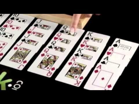 blackjack tip card