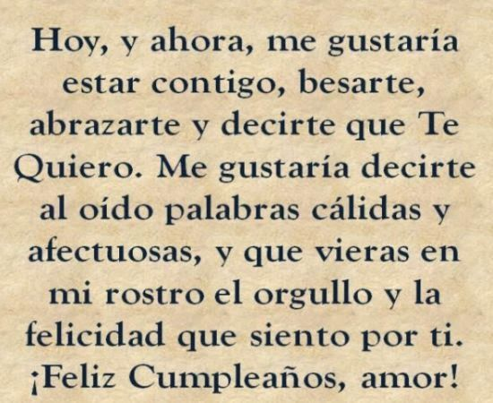25 best images about frases para cumple on Pinterest Each day, Te amo and Facebook