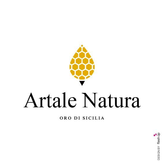Artale Natura, oro di Sicilia. Logo Design by FLASH UP. Please visit: www.facebook.com/flashupxx #photoshop #flashupdesign #concept #furcisiculo #rgb #cmyk #pantone #graphicdesign #design #grafica #graphic #miele #honey #idromiele #idromele #artalenatura #productdesign