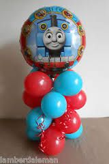 thomas the tank engine party table decorations - Google Search