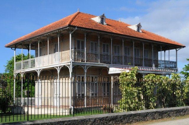 la maison de zevallos - Maison réputée hantée à moule en guadeloupe