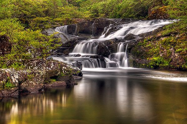 Gloucester Falls in Barrington Tops, New South Wales_ Australia