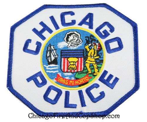 6272 Chicago Police Officer Patch www.ChicagoFireAndCopShop.com  Chicago Fire Department and Chicago Police Department gifts.