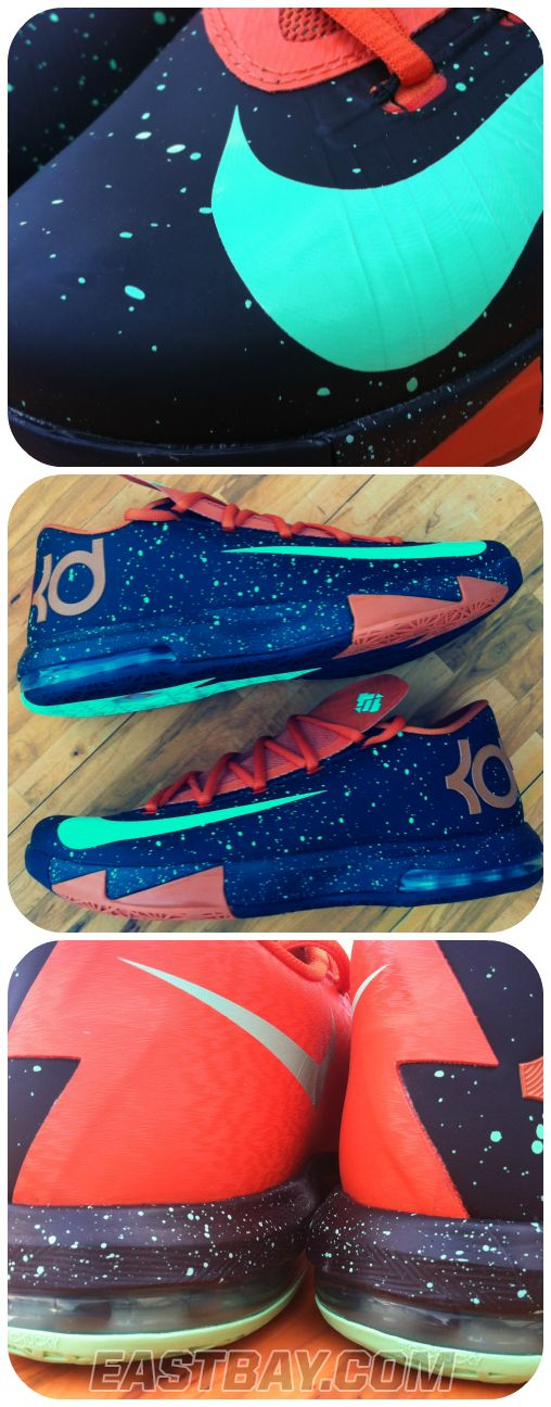 """Release Report: Check out the story behind the new KD VI """"Texas"""" colorway, then be ready to cop your pair when it releases on Oct. 10th. #Eastbay #Basketball #Shoes"""