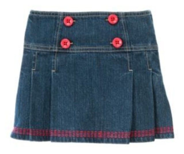 NWT Gymboree BLOOMING NAUTICAL, Jean Skort   Available in our online store at http://stores.ebay.com/starbabydesignshomestore