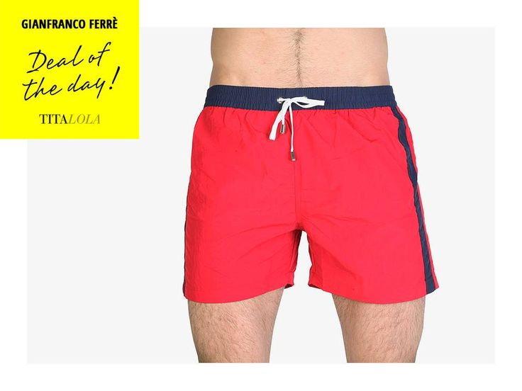Ferré Beachwear: costume uomo scontato del 60%. Disponibile anche in colore blu. http://titalola.click/35977