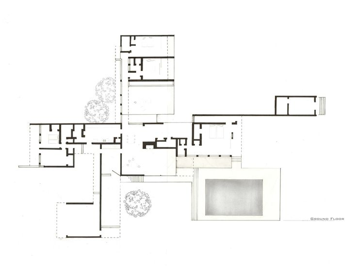 kaufman house richard neutra google search house On kaufmann desert house floor plan