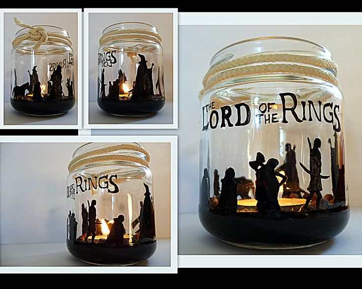 paint jar to diy candle holder lord of the rings crafts great for halloween gift YOUTUBE https://www.youtube.com/user/mikachansailor/featured
