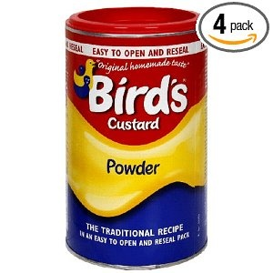 Bird's Custard Powder, 600g  Canisters (Pack of 4)