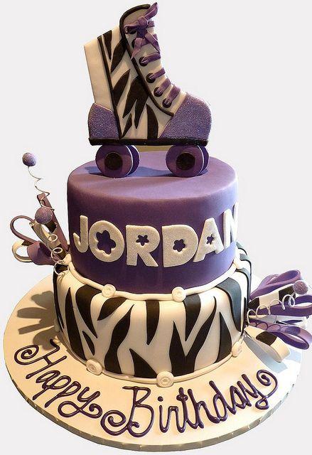 Roller skating Cake, via Flickr.