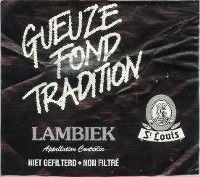 Label van St. Louis Gueze