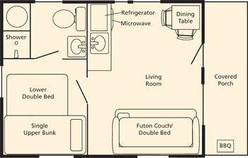 Log cabin blueprints 16x24 joy studio design gallery for 16x24 cabin floor plans