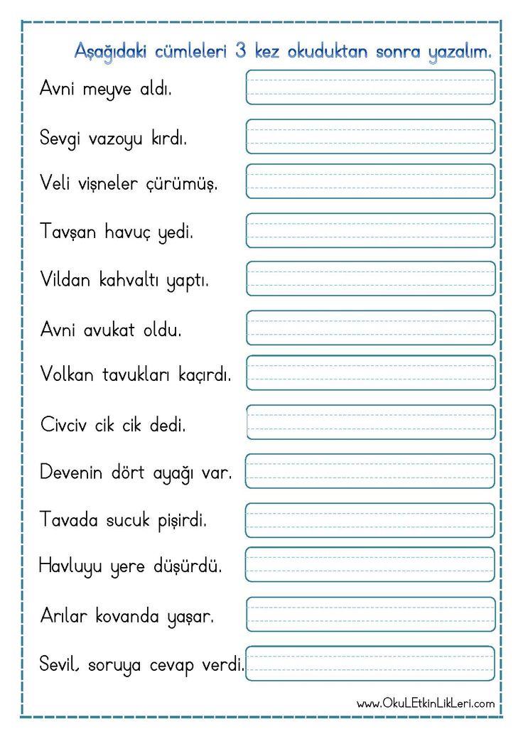 """"""" v """" Sesi Cümle Okuma Yazma Etkinliği pdf formatında özgün bir çalışma olarak hazırlanmıştır. Aşağıda bulunan linkten kolayca indirebilirsiniz. Tüm çalışmalarımızı kendi emeklerimizle özgün.."""