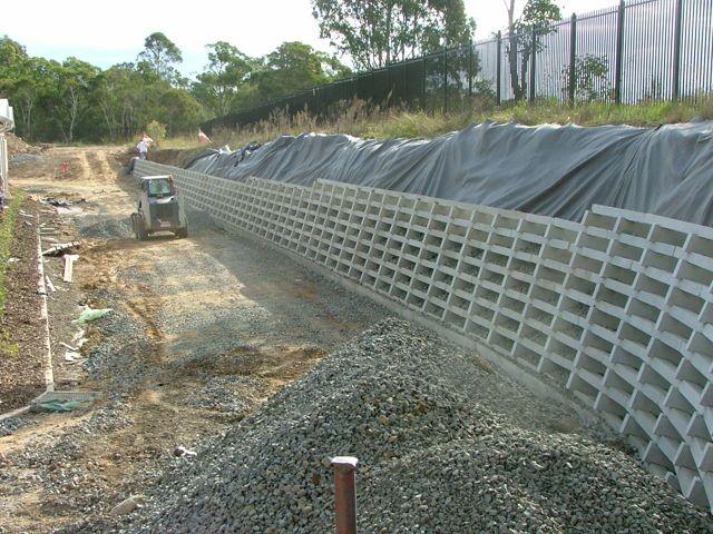 Retaining Solutions Precast Concrete Crib Retaining Walls Retaining Wall Precast Concrete Outdoor