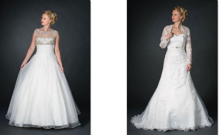De Allure Bridal trouwjurken zijn voor de klassieke, moderne of extravagante bruid. De jurken hebben veel gekleurde en uitbundige details.