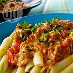 Pasta met kip en zongedroogde tomaat @ allrecipes.nl