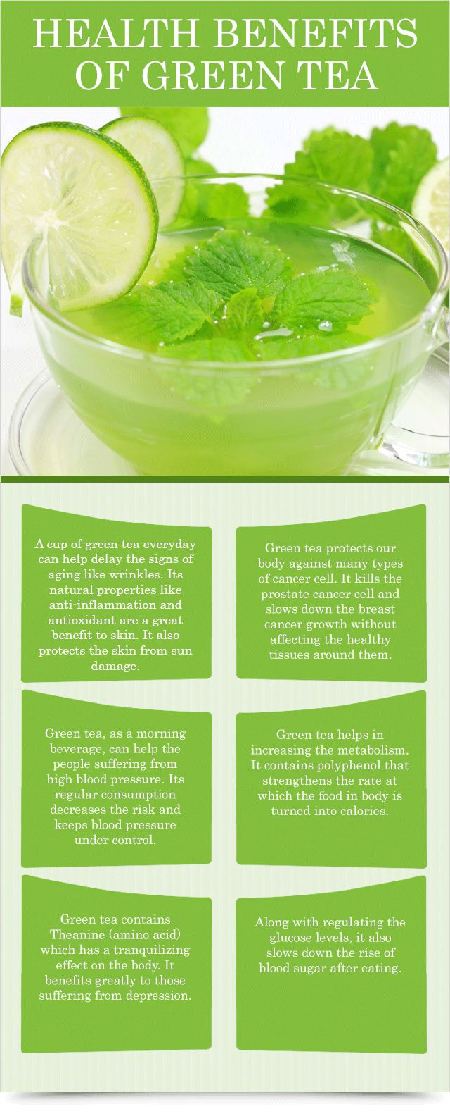 Health Benefits of Green Tea : Health Products For You