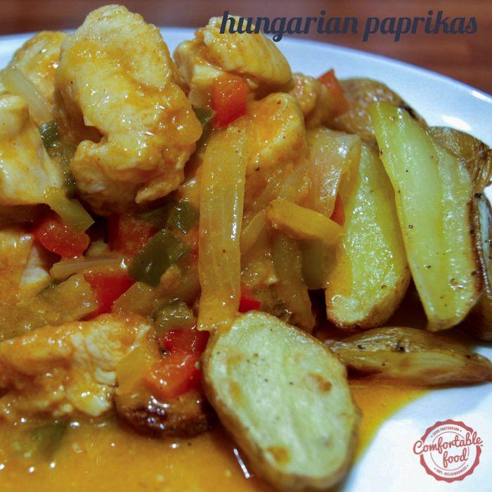 comfortable food - hungarian paprikas