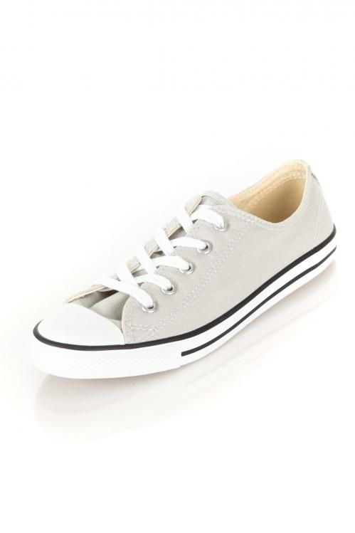 All Star Femme Basse Ct Dainty Ox Converse Gris Clair